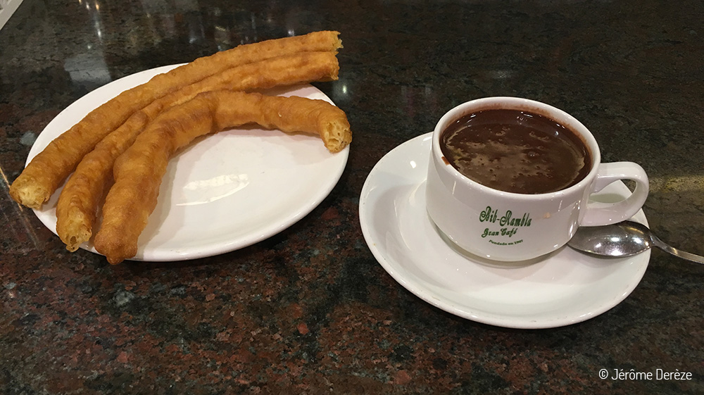 Quoi faire en Andalousie - Manger Churros Chocolat