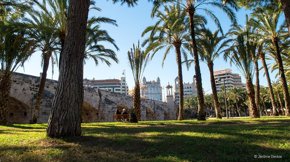 Quoi faire à Valence ? Visiter les Jardins du Turia