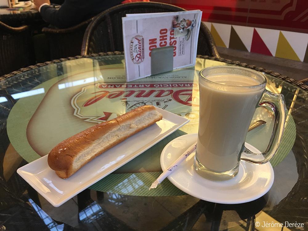Boire une horchata à Valence