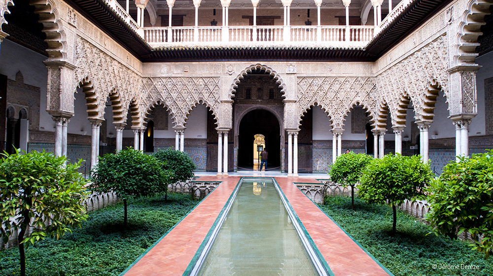 Voyager en solo en Espagne - Visiter l'Alcazar de Séville en Andalousie