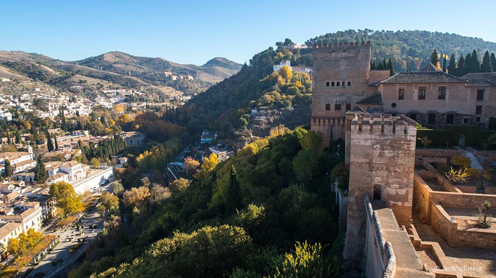 Voyager en solo en Espagne - Visiter Grenade en Andalousie