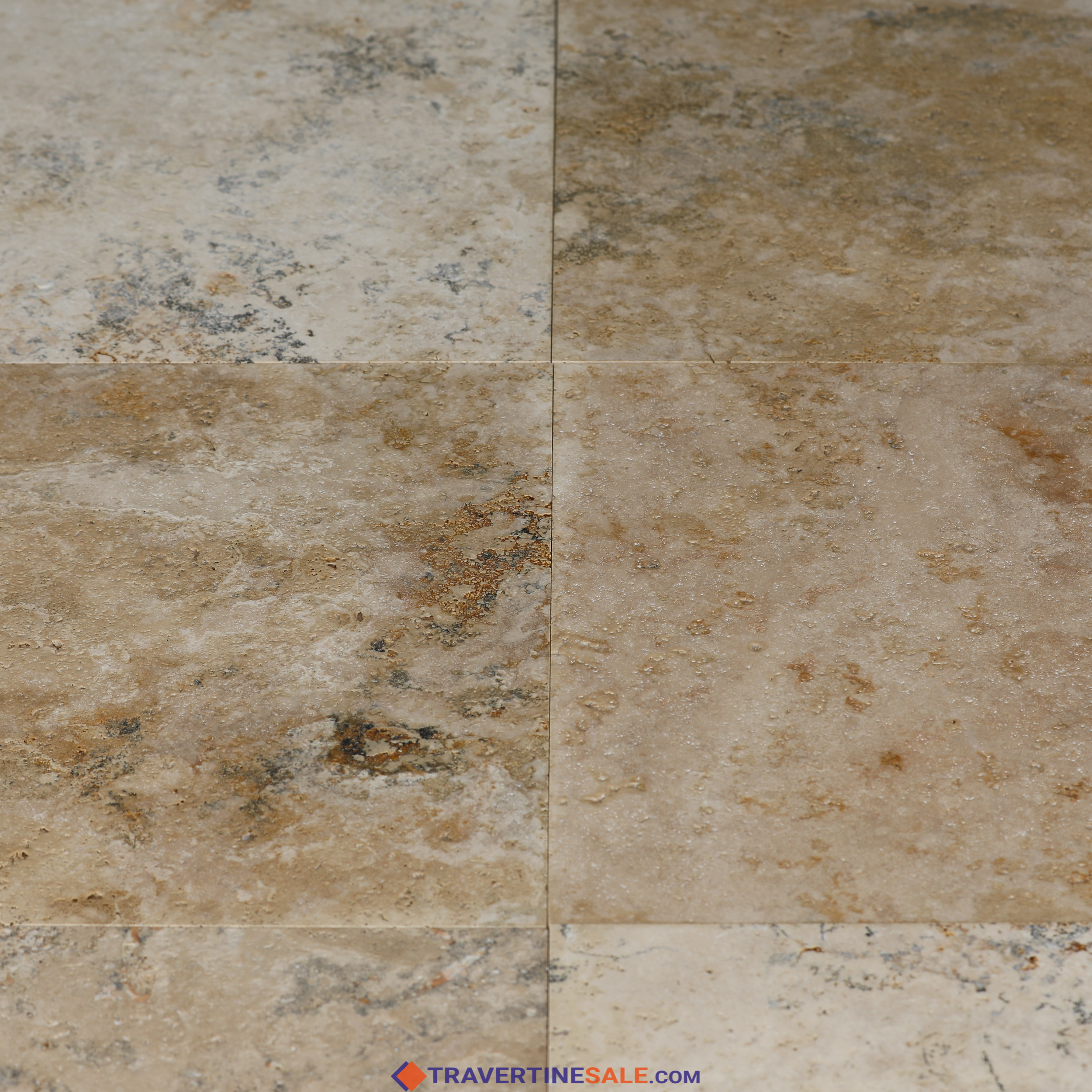 buy brushed country classic select travertine tiles for 11 49 m2