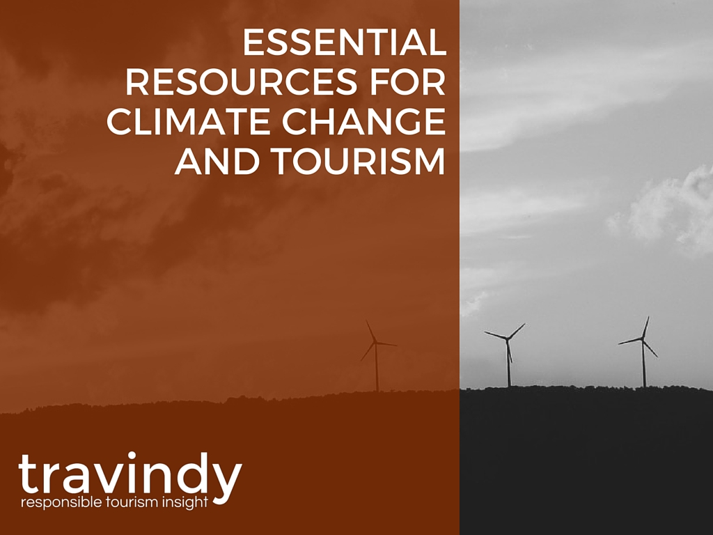 Essential Resources for Climate Change and Tourism