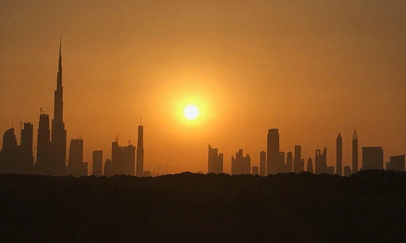 Image result for dubai sun