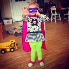 Her superpower is cuteness.