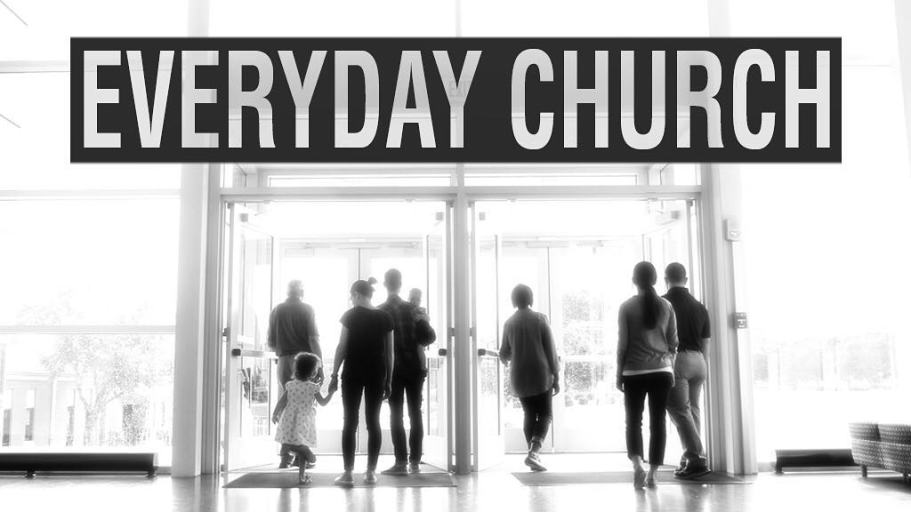 Tomorrow we start a series focusing on what it means to be the church once we leave the building. Game-changing potential! If you don't have a church home, come join our family!