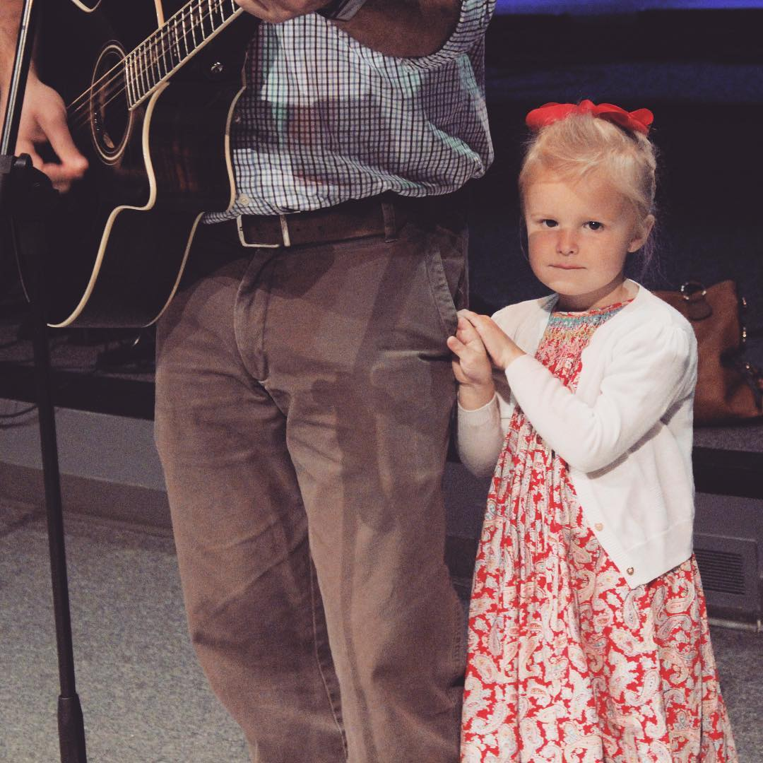 Soundcheck is always better with her by my side (and in my pocket).