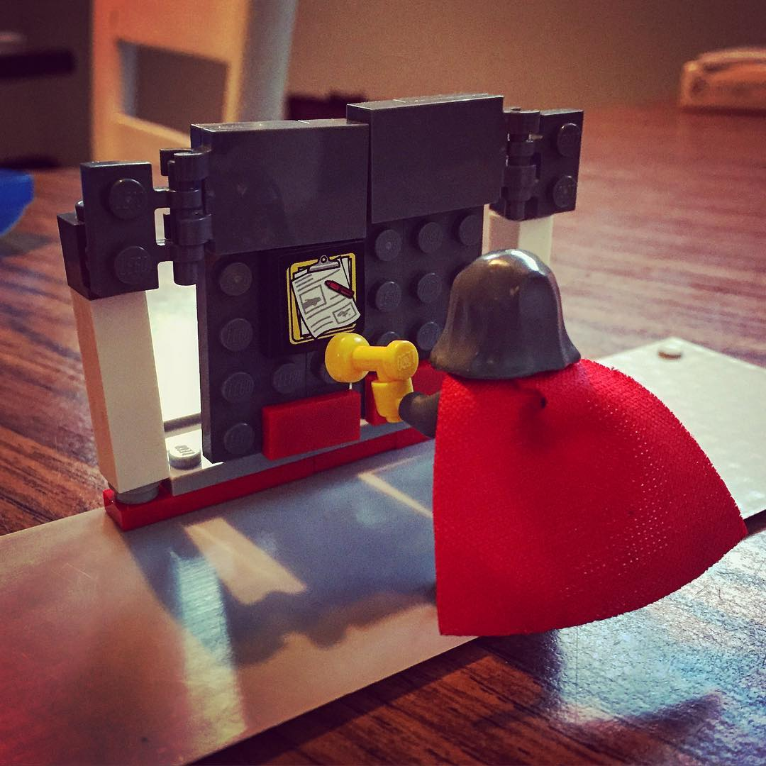 I would have engaged with Church History more had my professors given me Lego assignments like I gave my kids. #justsaying #reformation #martinluther #95theses
