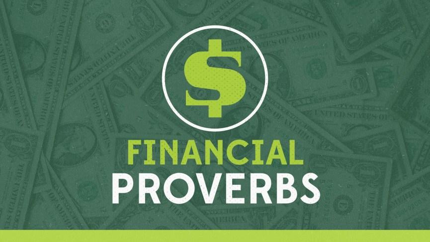 Financial Proverbs