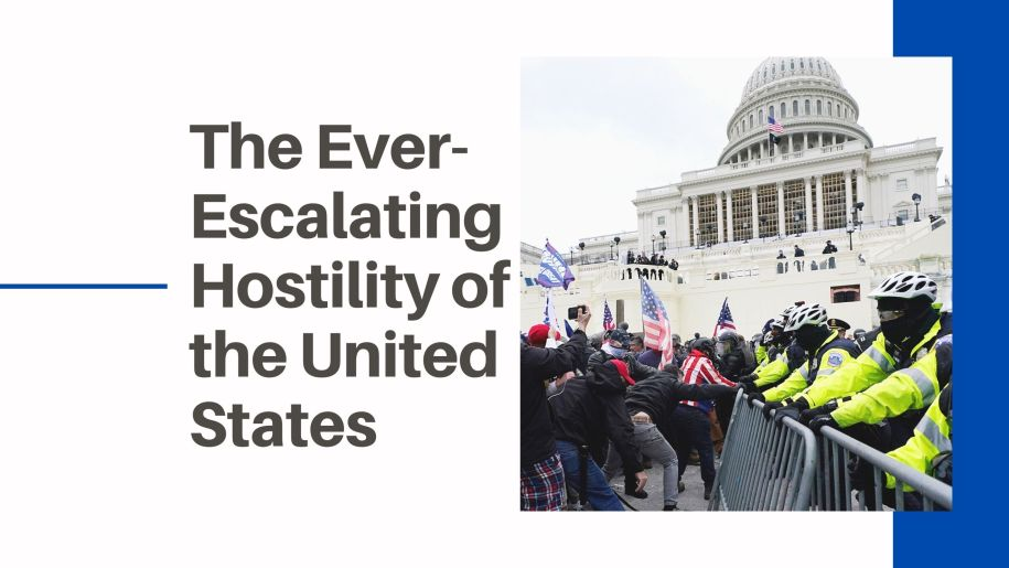 The Ever-Escalating Hostility of the United States