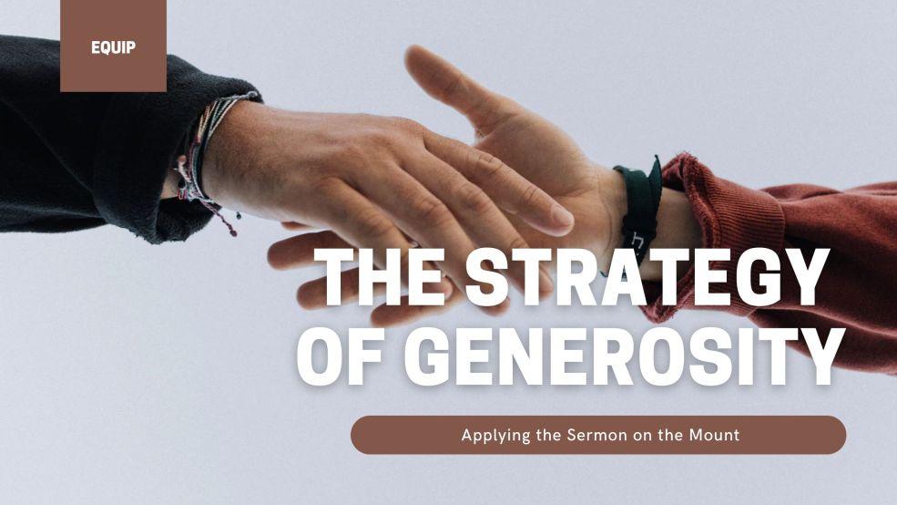 The Strategy of Generosity