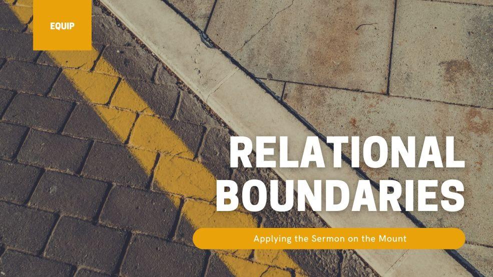 Relational Boundaries