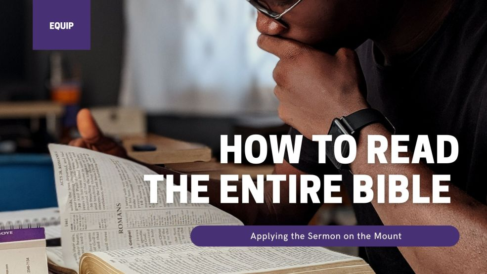 How to Read the Entire Bible