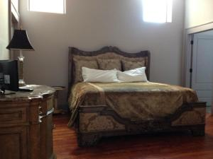 King Bed in Two Bedroom Loft