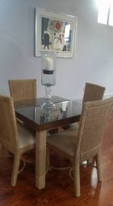 Table in One Bedroom Loft