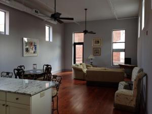 Living Room in Two Bedroom Loft