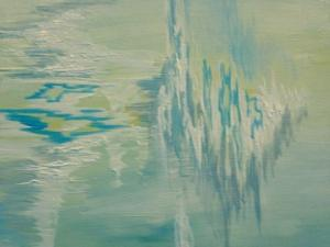 Sarah Tinsley Parker Untitled Acrylic on Canvas 20x20