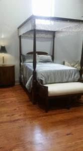 Queen Bed in Two Bedroom Loft