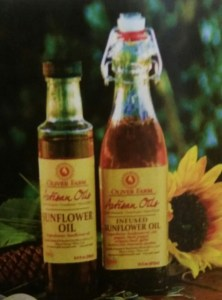 Oliver Farm Infused Sunflower Oil