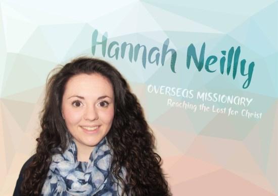 Hannah Neilly Prayer Card