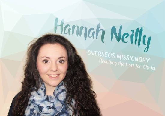 Hannah Neilly Prayer Card