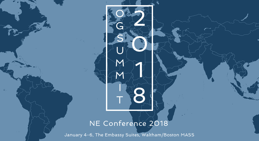 Our Generation Summit Northeast – January 4-6, 2018