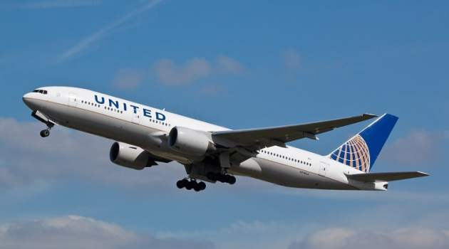 United Airlines ziet herstel dankzij vaccinaties