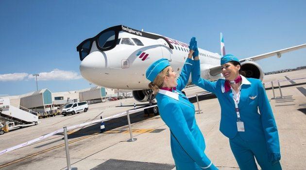 Eurowings lanceert prijsactie: 'Zin in de zomer'