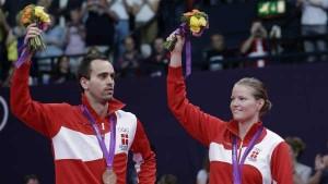 Joachim Fischer og Christinna Pedersen AP Foto