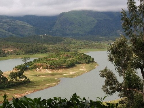 Image result for Anayirankal Dam in Munnar