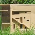 ontwerp woonhuis op Borneo-eiland