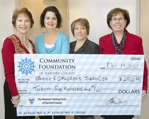 Philanthropy comes full circle for Harford County women ...