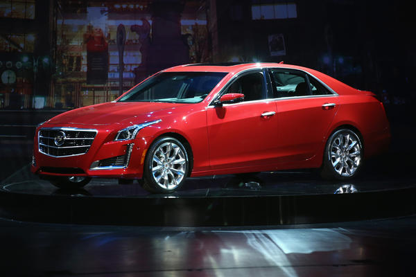 2013 New York Auto Show Cadillac Unveils Sleeker More