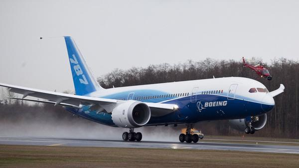 Boeing 787 takes flight for 2nd test - tribunedigital ...