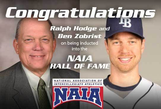 Olivet's Ralph Hodge and Ben Zobrist to receive NAIA's ...