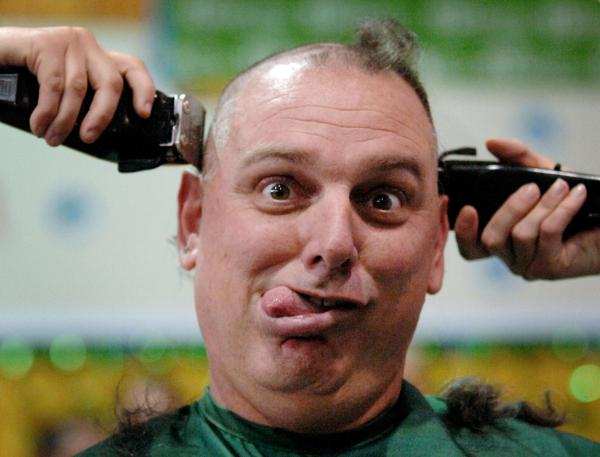 Shave your head to help fight childhood cancer ...