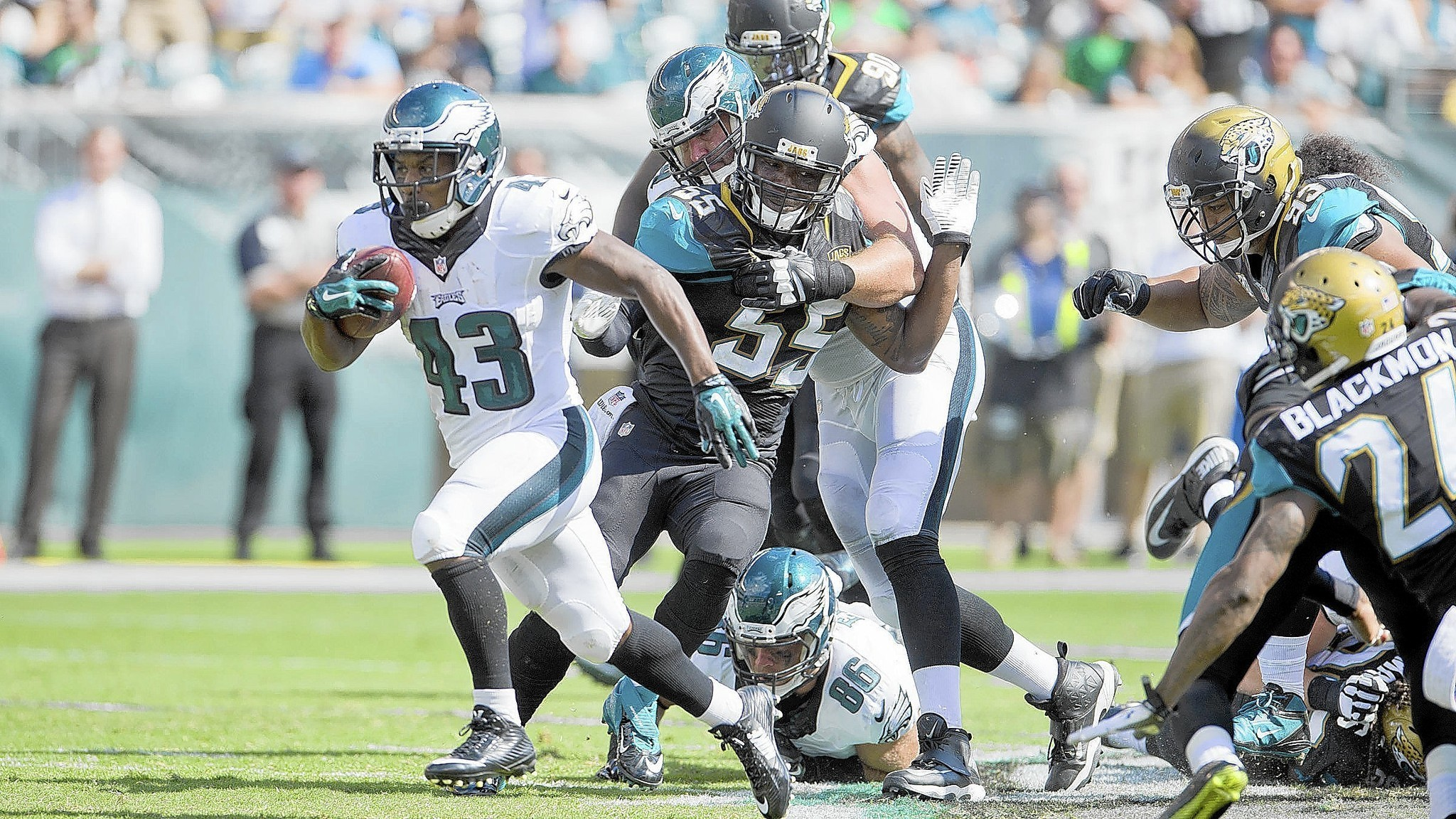 Philadelphia Eagles Running Game Sets Up Everything Else