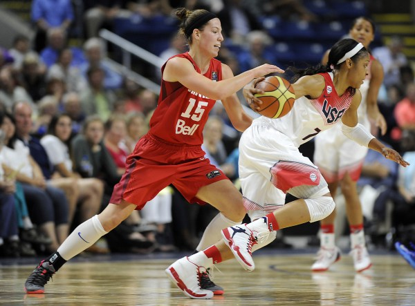 USA Vs. Canada Women's Basketball Exhibition - Hartford ...