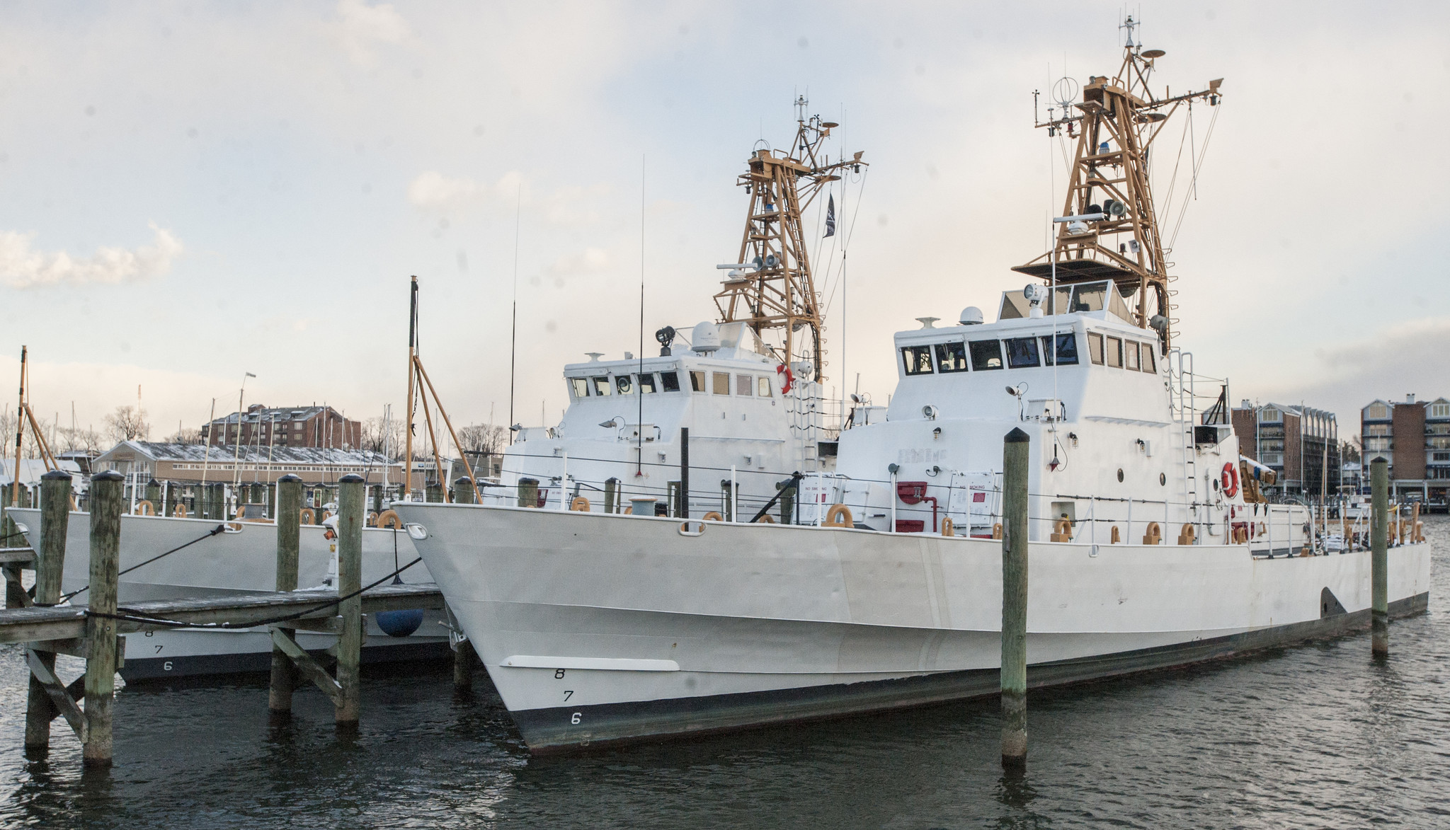 A Pair Of Cutters Spark Curiosity In Downtown Annapolis