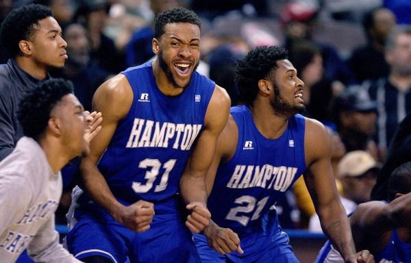 Hampton U. MEAC title: Hampton U. defeats Delaware State ...