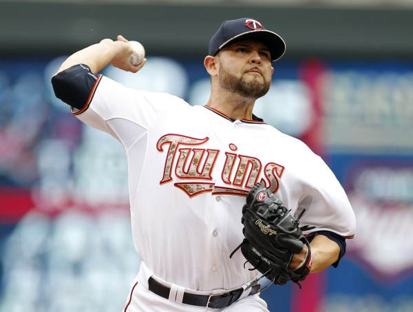 Nolasco, Plouffe Help Twins Stay Hot In 7-2 Win Over Red ...