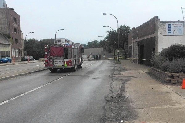 Fire causes Former National Towel building's roof to ...