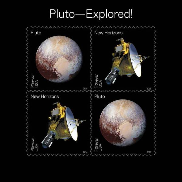 USPS releases 2016 stamps of NASA's Pluto, solar system ...