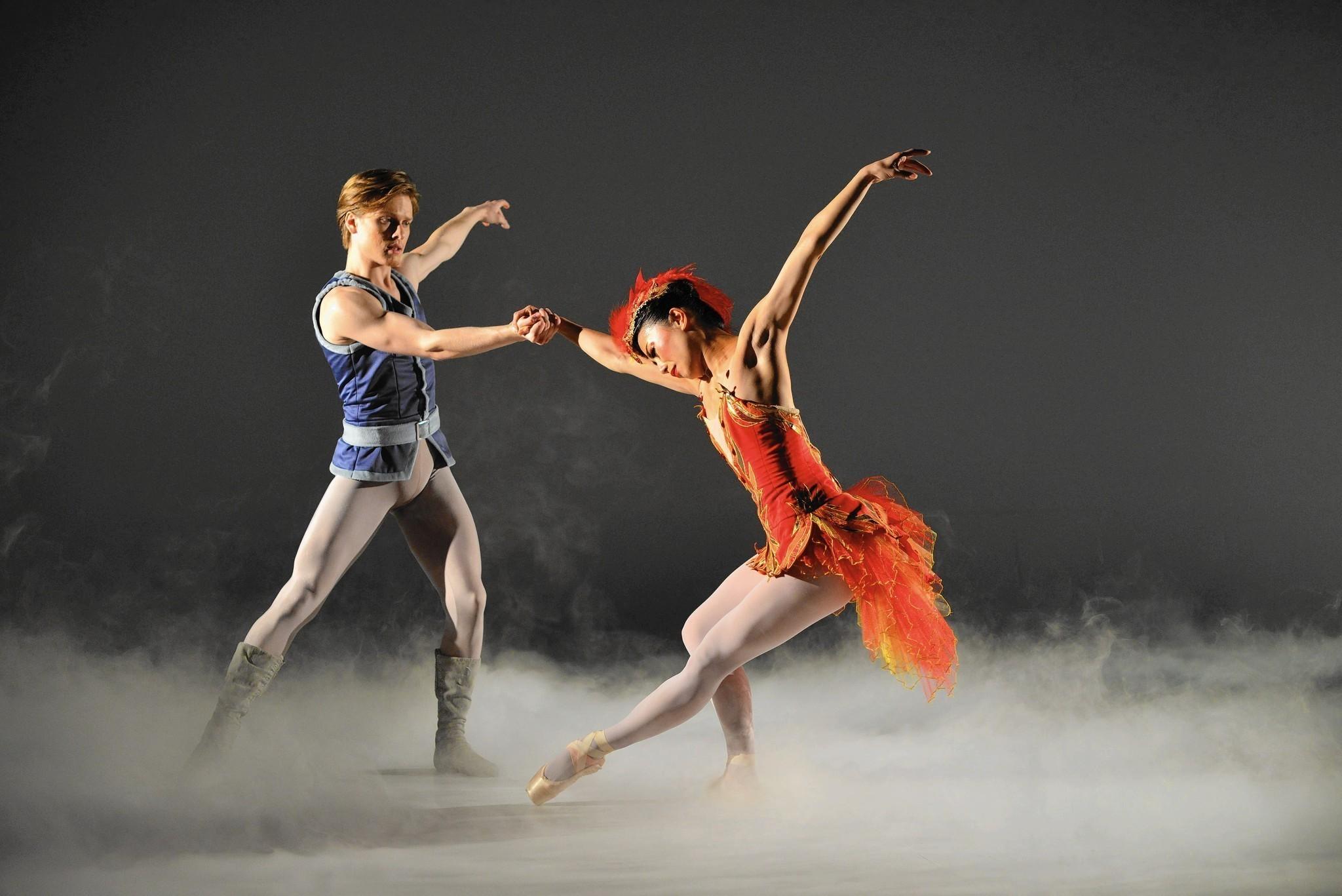 Orlando Ballet Tries Something New The FirebirdTo