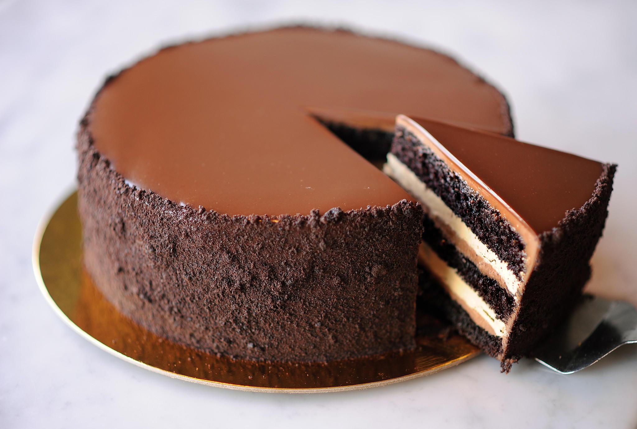 Triple Chocolate Torte Recipe
