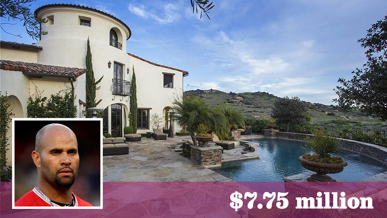 Angels Albert Pujols Puts His Irvine Mansion Up For Sale