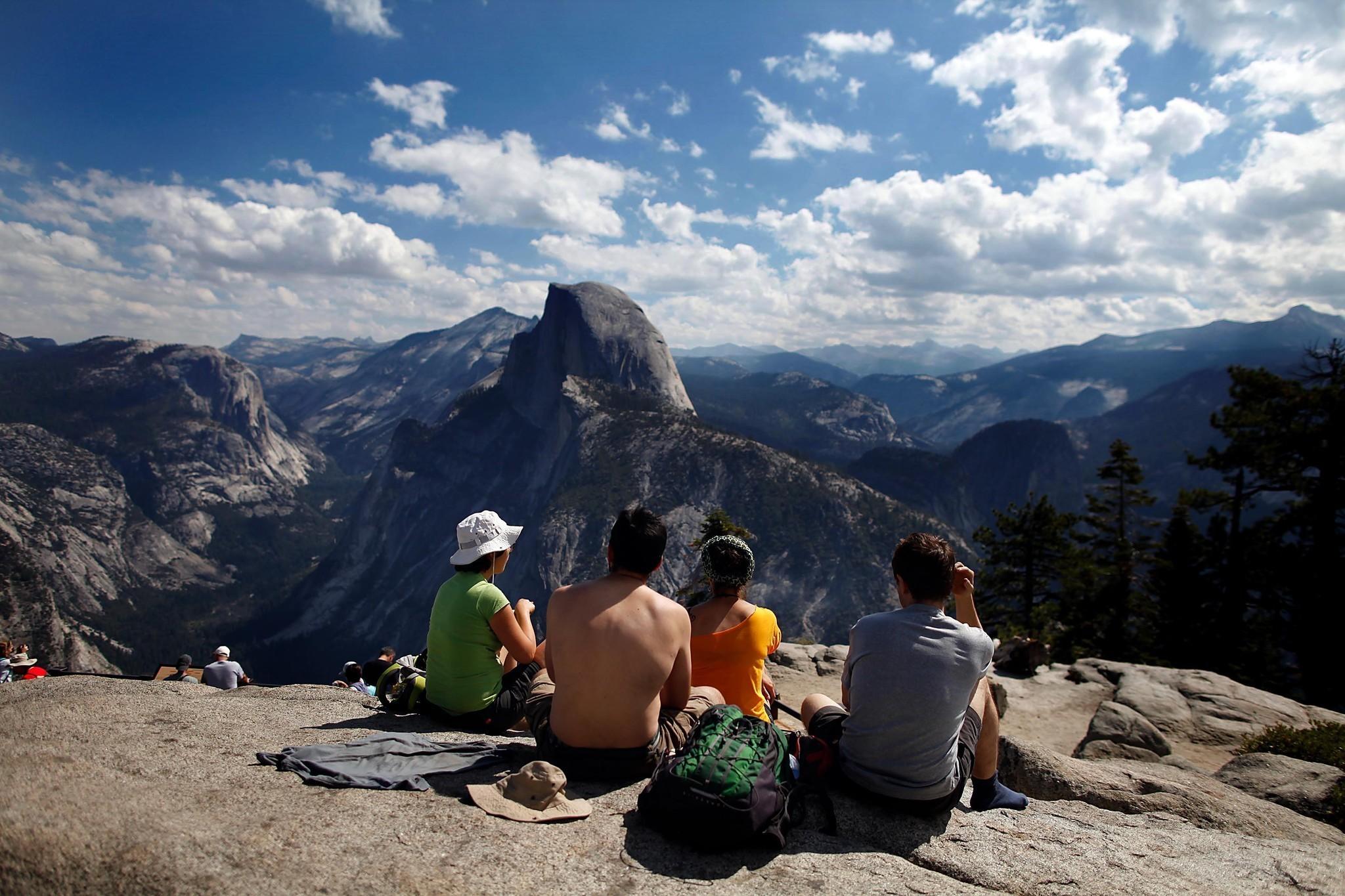 Yosemite Glacier Point Road Will Open But Hiking Trails