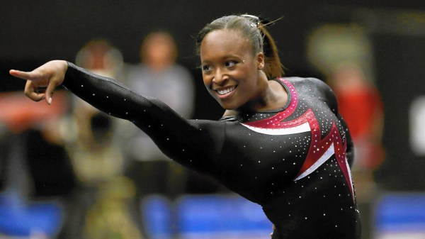 Former Parkette gymnast Elizabeth Price happy to be at ...