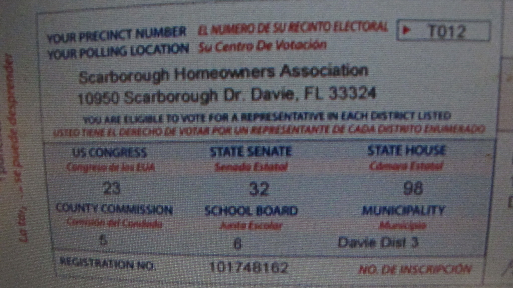 And if you're not registered, we'll help you take care of that too. Broward County Voter Registration Card Replacement   Webcas.org