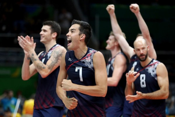 U.S. men's volleyball team advances to semifinals ...